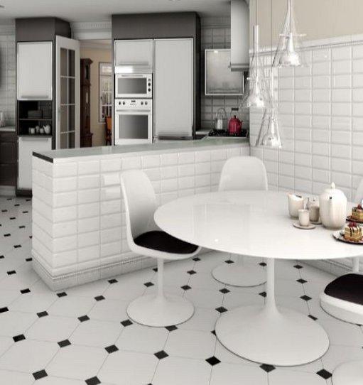 Przegląd małych płytek ceramicznych  kafli -> Kuchnia Z Kafelki