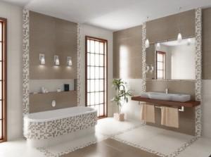 Mozaika Ceramiczna Idealną Ozdobą Do łazienki