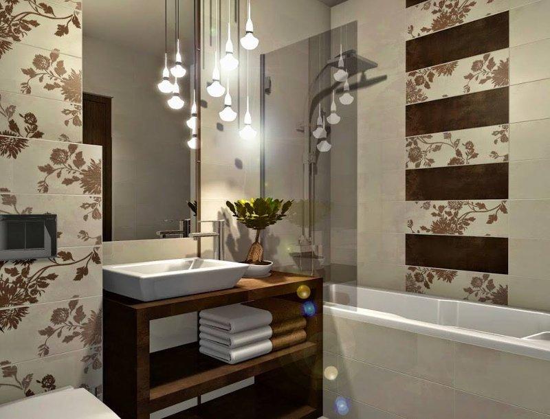 Projekt łazienki Z Płytkami I Ceramiką Z Dekordiapl I Nie Tylko