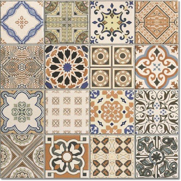 Wzorzyste p ytki cienne i pod ogowe - Azulejos clasicos ...