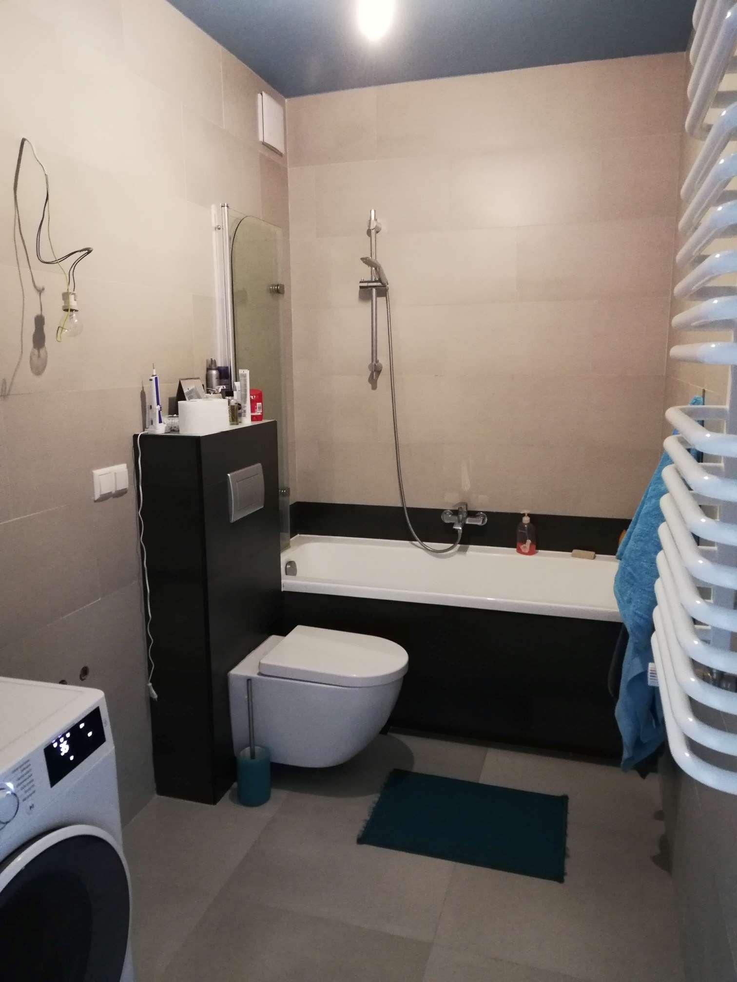 łazienka W Szarościach I Czerni