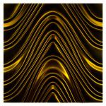 3D Mazu Golden Wave